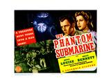 The Phantom Submarine, from Left, Bruce Bennett, Anita Louise, 1940 Giclee Print