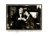 The Other Man, Left: Roscoe 'Fatty' Arbuckle, 1916 Giclee Print