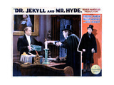 Dr. Jekyll and Mr. Hyde, from Left, Holmes Herbert, Fredric March, 1931 Giclee Print
