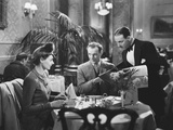 Brief Encounter, from Left: Celia Johnson, Trevor Howard, Alfie Bass, 1945 Photo