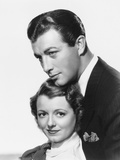 Small Town Girl, from Left: Janet Gaynor, Robert Taylor, 1936 Photo