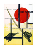 Yojimbo, (AKA the Bodyguard), Polish Poster, 1961 Giclee Print