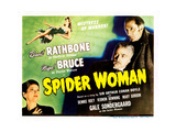 Spider Woman, (aka Sherlock Holmes and the Spider Woman), 1944 Giclee Print