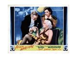 The Girl from Missouri, from Left, Lionel Barrymore, Jean Harlow, Patsy Kelly, 1934 Giclee Print