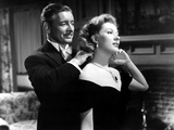Random Harvest, Ronald Colman, Greer Garson, 1942, Fastening Necklace Photo