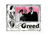 Greed, 1924 Giclee Print