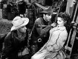 Red River, from Left: John Ireland, Montgomery Clift, Joanne Dru, 1948 Photo