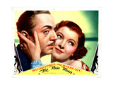 The Thin Man, William Powell, Myrna Loy, 1934 Giclée-tryk