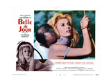 Belle De Jour, from Left, Michel Piccoli, Catherine Deneuve, 1967 Giclee Print