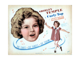 Curly Top, Shirley Temple, 1935 Giclee Print
