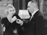 Three Faces East, from Left: Constance Bennett, Erich Von Stroheim, 1930 Photo