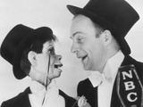 The Chase and Sanborn Hour, from Left: Charlie Mccarthy, Edgar Bergen, 1937-1940 Photo
