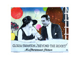 Beyond the Rocks, from Left: Gloria Swanson, Rudolph Valentino, 1922 Giclee Print
