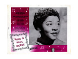 Rock 'N' Roll Revue, Dinah Washington, 1955 Giclee Print