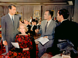 North by Northwest, Cary Grant, Eva Marie Saint, James Mason, Martin Landau, 1959 Photo