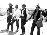 The Wild Bunch, Ben Johnson, Warren Oates, William Holden, Ernest Borgnine, 1969 Photo