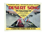 The Desert Song, John Boles, Carlotta King, 1929 Giclee Print