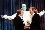 Young Frankenstein, Marty Feldman, Gene Wilder, Peter Boyle, 1974 Photo