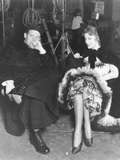 San Francisco, from Left: Spencer Tracy, Jeanette Macdonald on Set, 1936 Photo