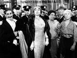 A Night at the Opera, Groucho Marx, Margaret Dumont, Chico Marx, Robert O'Connor, Harpo Marx, 1935 Photo