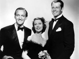 Three Blind Mice, from Left: David Niven, Loretta Young, Joel Mccrea, 1938 Photo