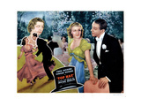 Top Hat, from Left, Helen Broderick, Ginger Rogers, Fred Astaire, 1935 Giclee Print