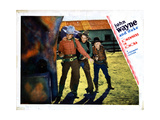 Somewhere in Sonora, John Wayne, (Left), 1933 Giclee Print