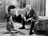 Miracle on 34th Street, from Left, Natalie Wood, Edmund Gwenn, 1947 Photo