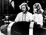 Young Frankenstein, from Left, Peter Boyle, Gene Wilder, Teri Garr, 1974 Photo