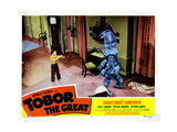 Tobor the Great, Billy Chapin, 1954 Giclee Print
