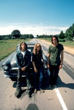 Two-Lane Blacktop, from Left: Dennis Wilson, Laurie Bird, James Taylor, 1971 Photo