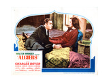 Algiers, from Left: Charles Boyer, Hedy Lamarr, 1938 Giclee Print