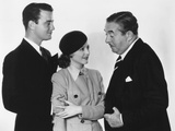 Servants' Entrance, from Left: Lew Ayres, Janet Gaynor, Walter Connolly, 1934 Photo
