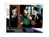 Her Majesty, Love, W.C. Fields, Marilyn Miller, Leon Errol, 1931 Giclee Print