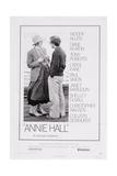 Annie Hall, from Left: Diane Keaton, Woody Allen, 1977 Impression giclée