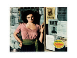The Outlaw, Jane Russell, 1943 Giclée-tryk