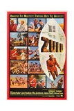 Zulu, Right: Michael Caine, 1964 Giclee Print