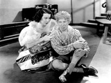 A Night at the Opera, from Left, Kitty Carlisle, Harpo Marx, 1935 Photo