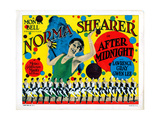 After Midnight, Norma Shearer, 1927 Giclée-tryk