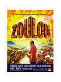 Zulu, (AKA Zoulou), French Poster Art, 1964 Giclee Print
