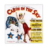 Cabin in the Sky, from Bottom Left: Ethel Waters, Eddie 'Rochester' Anderson, Lena Horne, 1943 Giclee Print