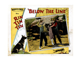 Below the Line, Rin Tin Tin, June Marlowe, (Center), 1925 Giclee Print