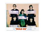 Hold On, Herman's Hermits, 1966 Giclée-tryk