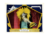 Her Gilded Cage, Gloria Swanson on Lobbyccard, 1922 Giclee Print