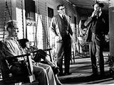 To Kill a Mockingbird, Robert Duvall, Mary Badham, Gregory Peck, Frank Overton, 1962 Photo