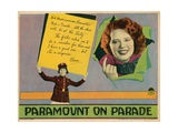 Paramount on Parade, from Left, Mitzi Green, Clara Bow, 1930 Giclee Print