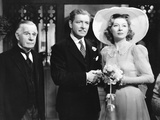 Random Harvest, from Left: Henry Travers, Ronald Colman, Greer Garson, 1942 Photo