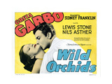 Wild Orchids, from Left: Greta Garbo, Nils Asther, 1929 Giclee Print