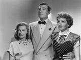 The Secret Heart, from Left: June Allyson, Walter Pidgeon, Claudette Colbert, 1946 Photo