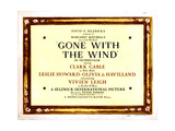Gone with the Wind, 1939 Giclee Print